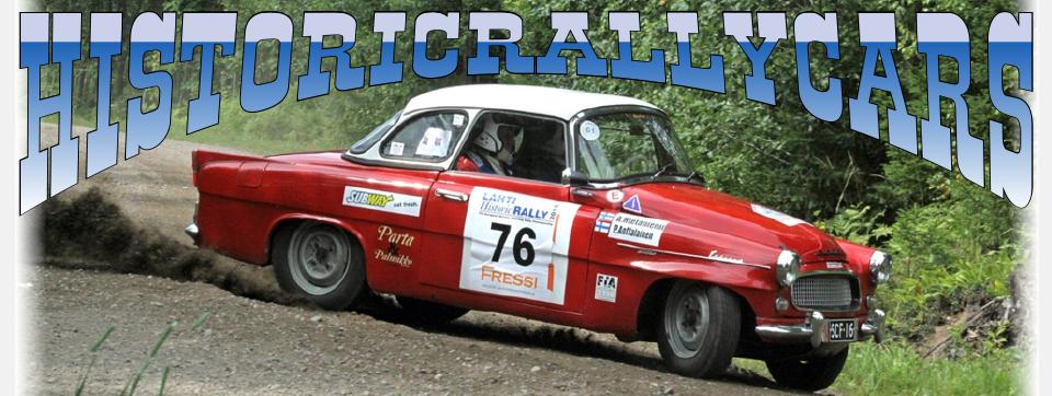 Historic Rally Cars